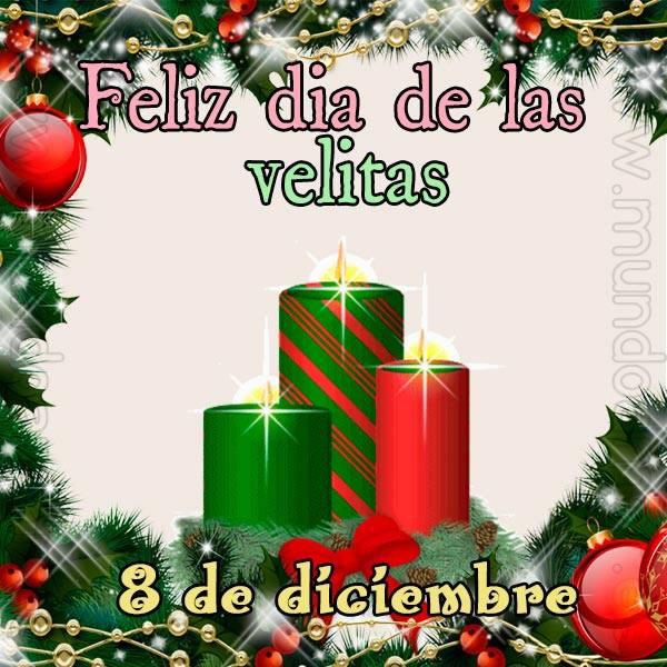 Feliz día de las velitas, 8 de diciembre