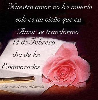 Nuestro amor no ha muerto solo es un otoño que en Amor se transformo