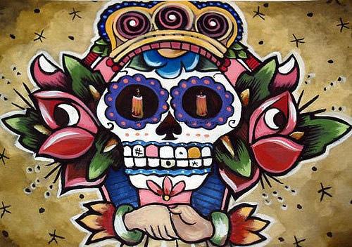 Bonito Dibujo De Calavera Imagen 3440 Imágenes Cool