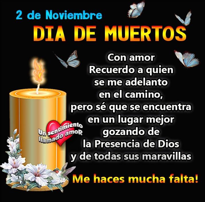 2 de noviembre, Dia de Muertos