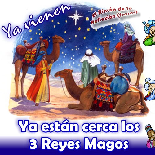 Ya están cerca los 3 Reyes Magos