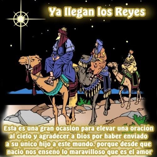 Ya llegan los Reyes