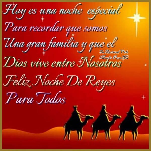 Feliz Noche de Reyes para todos