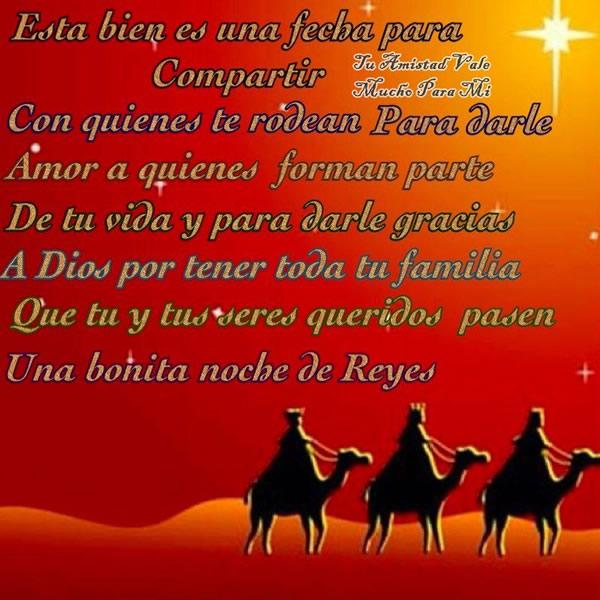 Una bonita noche de Reyes