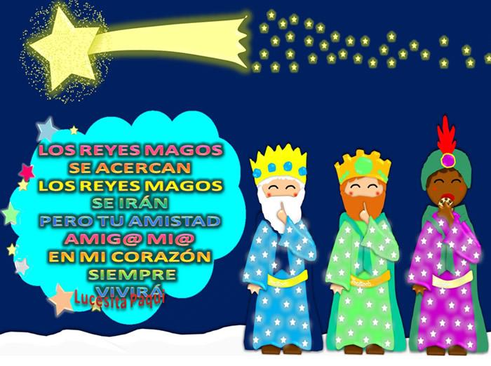 Los Reyes Magos se acercan