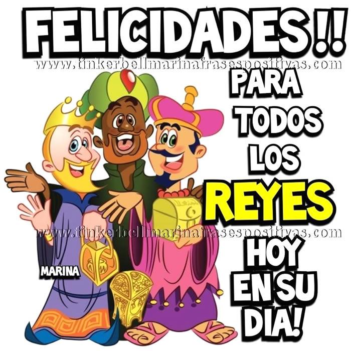 Felicidades para todos Los Reyes, hoy en su día!
