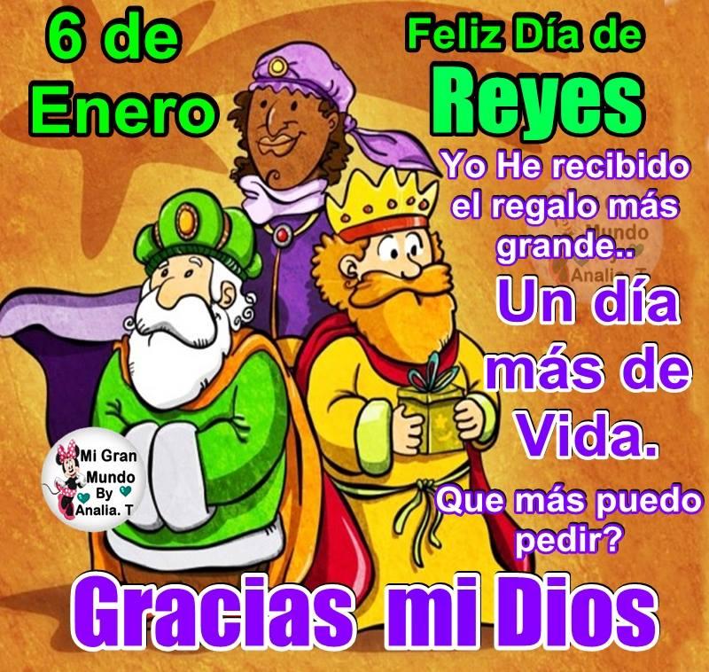 Feliz Día de Reyes! Yo he recibido el...