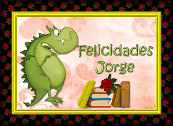Felicidades Jorge