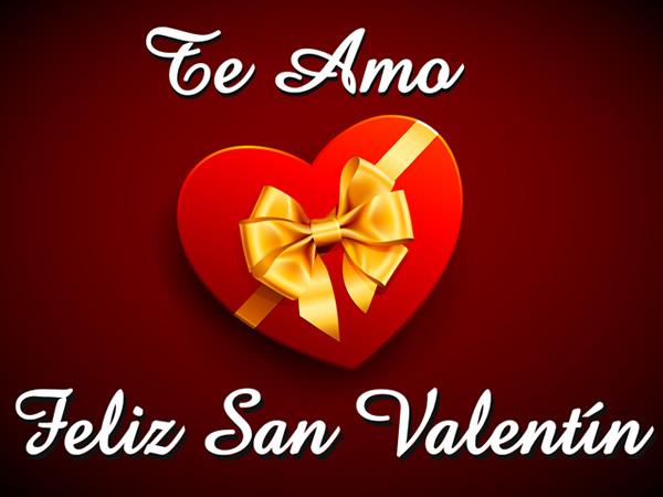 Te Amo... Feliz San Valentín
