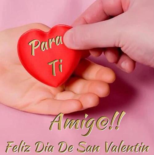 Para Ti Amig@!! Feliz Día de San Valentín