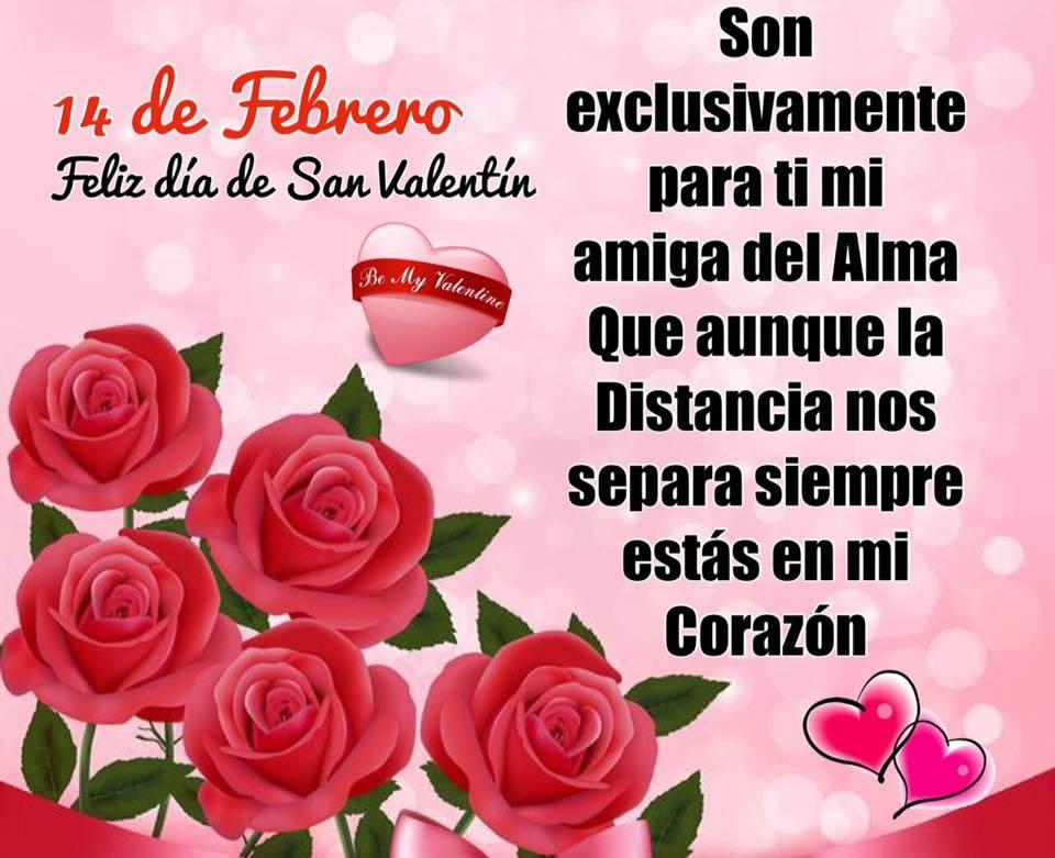 14 de Febrero, Feliz día de San Valentín