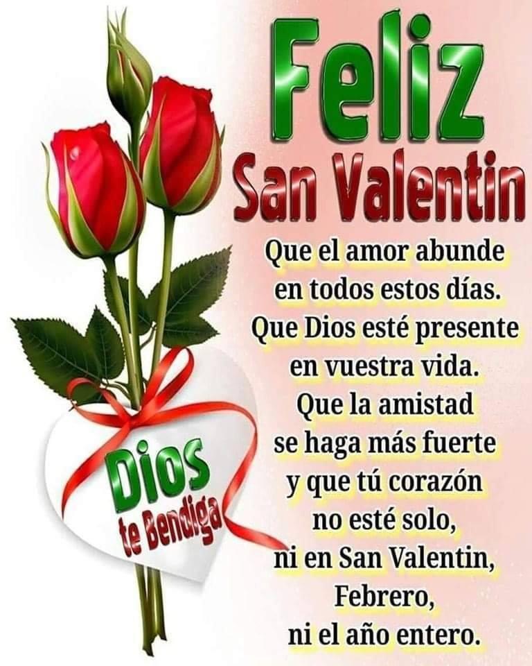 Feliz San Valentin! Que el...