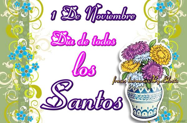 1 de Noviembre, Día de todos los Santos