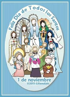 Feliz Día de Todos los Santos, 1 de...