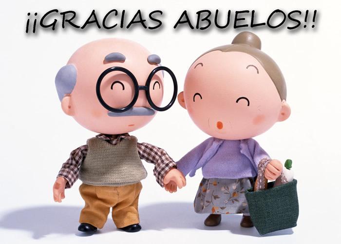 ¡¡Gracias Abuelos!!