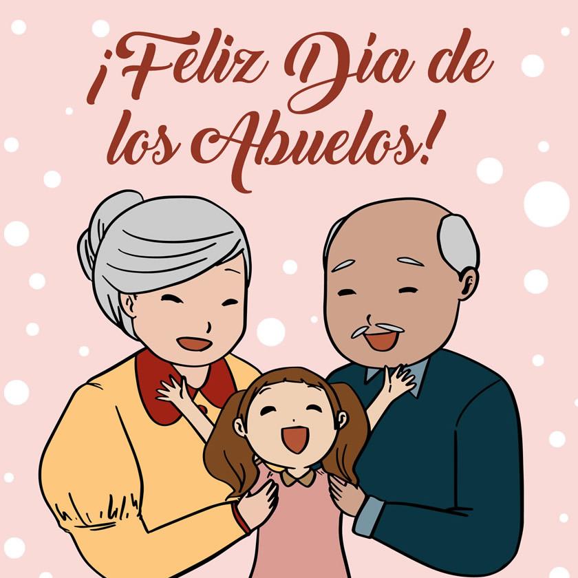 ¡Feliz Día de los Abuelos!