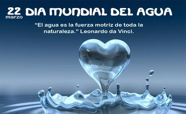 22 marzo, Día Mundial del Agua. El agua...