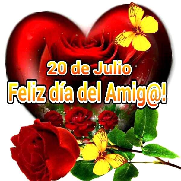 20 de Julio, Feliz día del Amig@!