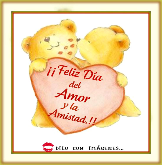 ¡¡Feliz Día del Amor y la Amistad!!