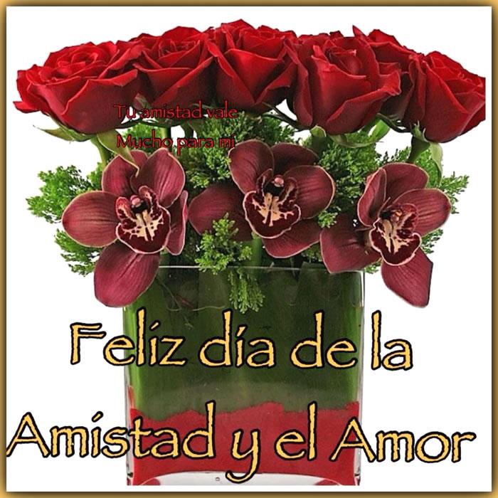 Feliz día de la Amistad y el Amor