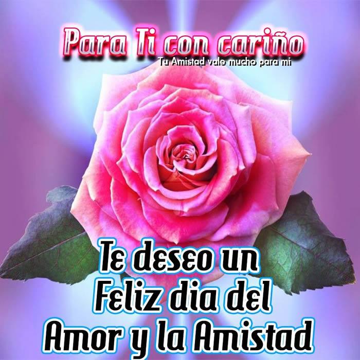 Para Ti Cariño Te Deseo Un Feliz Día Del Amor Y La Amistad Imagen