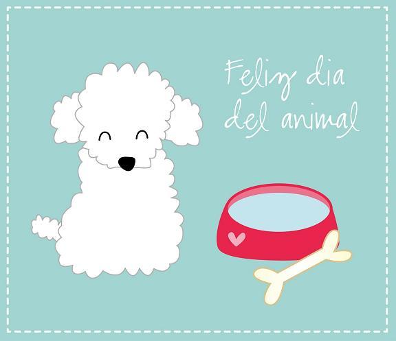 Feliz día del animal