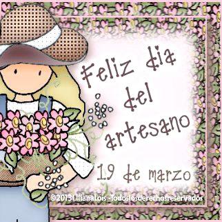 Feliz día del artesano, 19 de marzo