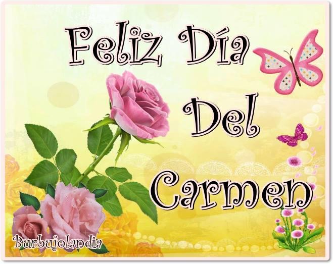 Feliz Día del Carmen