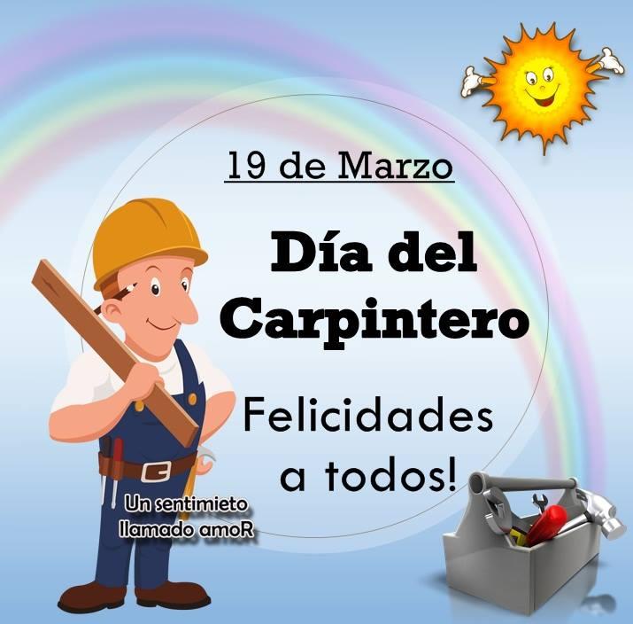 19 de Marzo, Día del Carpintero