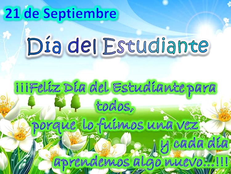 21 de Septiembre, Día del Estudiante
