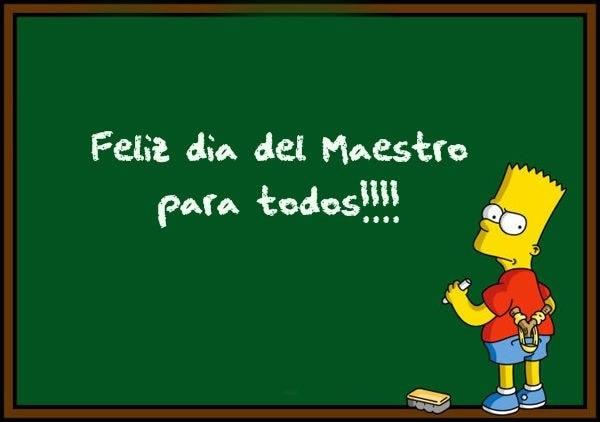 Feliz día del Maestro para todos!!