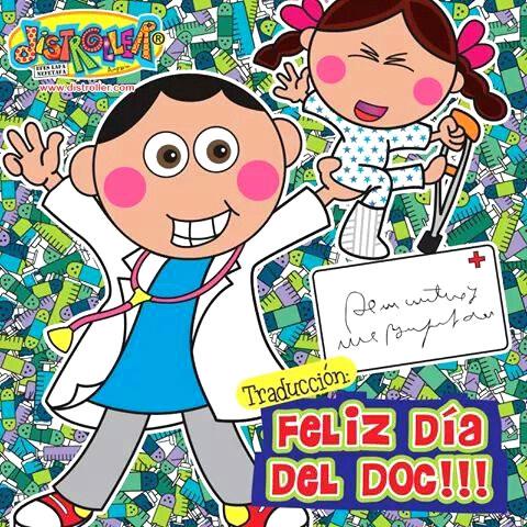 Traducción: Feliz día del Doc!!!