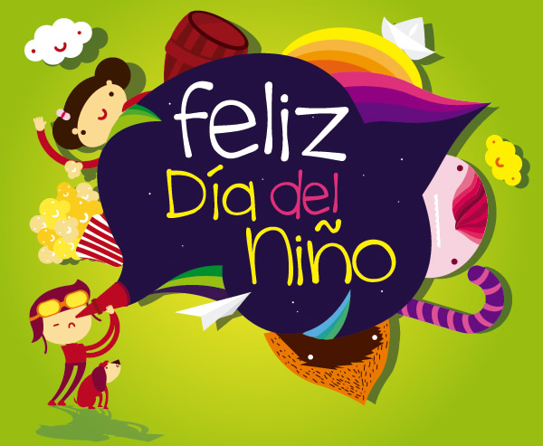 Día del niño 2016 Mexico - Children's Day Columbia