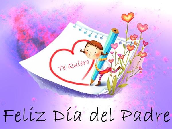 Feliz Día del Padre, Te Quiero