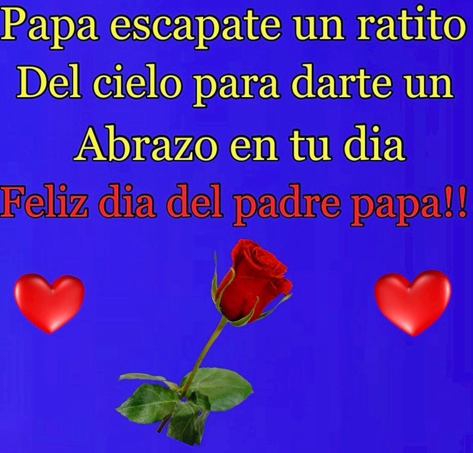 Feliz día del padre papa!!