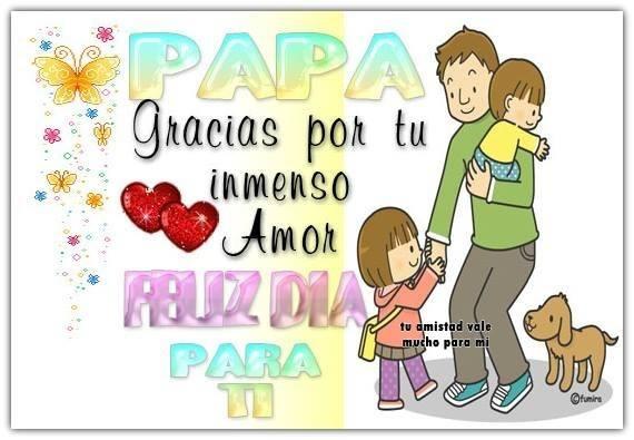 Papá, gracias por tu inmenso amor...