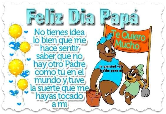 Feliz Día Papá! Te Quiero Mucho