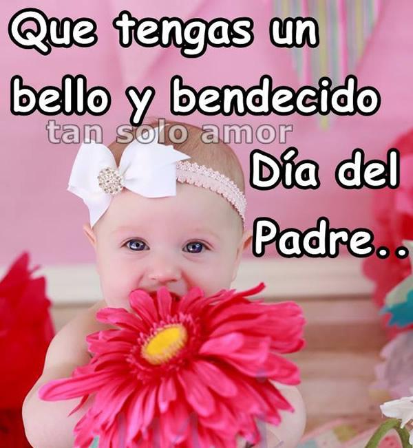 Que tengas un bello y bendecido Día del Padre