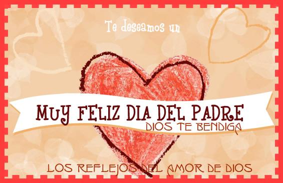 Te deseamos un muy feliz día del Padre! Dios te Bendiga