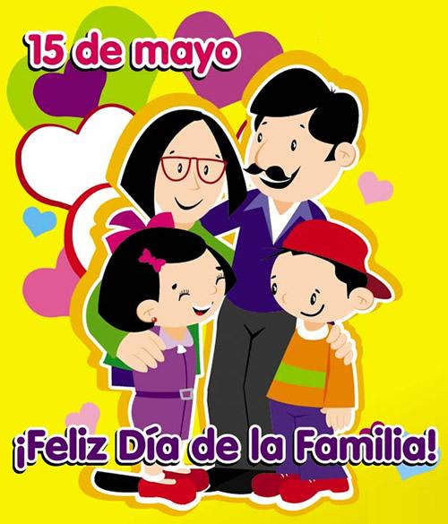 15 de mayo, Feliz Día de la Familia!