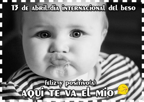 Día Internacional del Beso... Aqui te va el mío