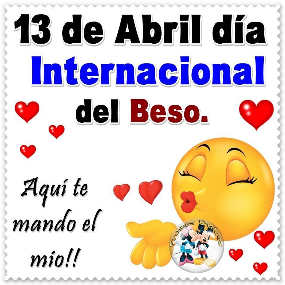 13 de Abril, Día internacional del Beso