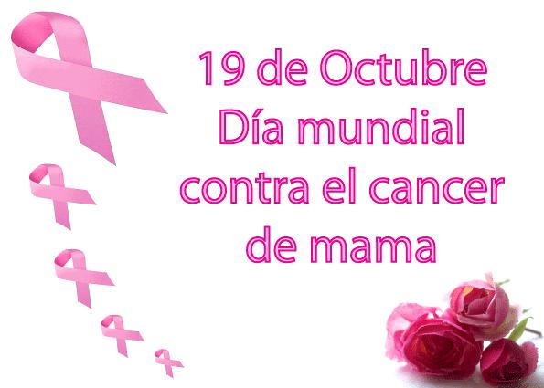 19 de Octubre, día mundial contra el cancer de mama