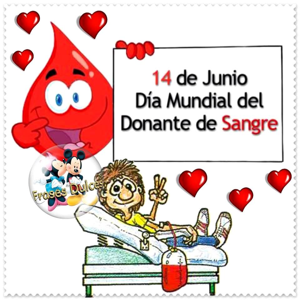14 de Junio - Día Mundial del Donante...