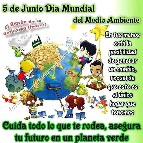 5 de Junio, Día Mundial del Medio...
