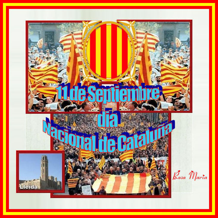 11 de Septiembre, dia Nacional de Cataluña