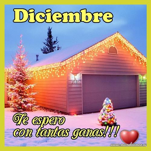 Diciembre ¡Te espero con tantas ganas!