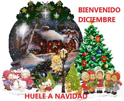 Bienvenido Diciembre, Huele a Navidad