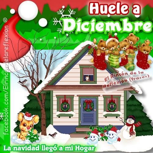 Huele a Diciembre. La navidad llegó a mi hogar