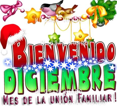 Bienvenido Diciembre, ¡Mes de la unión familiar!